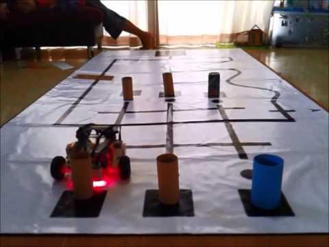 ซ้อมหุ่นยนต์เตรียมแข่ง สพฐ 56