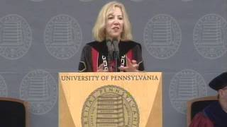 2011 Commencement Address by Penn President, Dr. Amy Gutmann