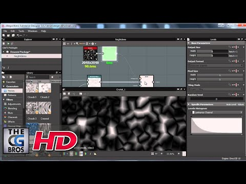 """CGI 3D Tutorial : """"Height Map Creation in Substance Designer"""" - by 3dmotive"""