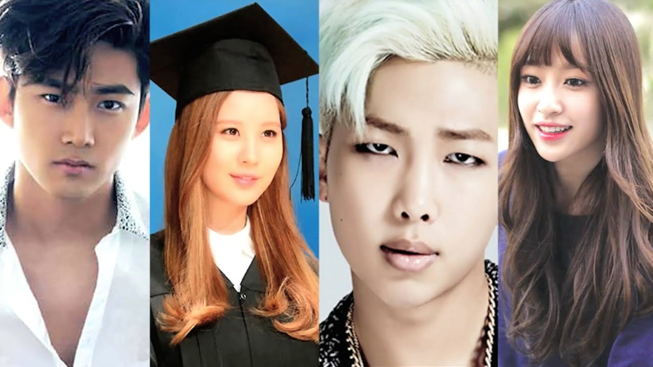 Kpop S Smartest Idols Youtube