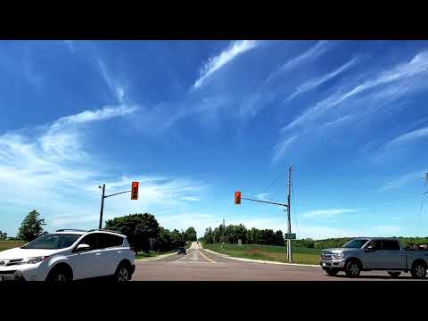 Drive Around! Guelph To St Jacobs Farmers Market Ontario Canada: Full Video
