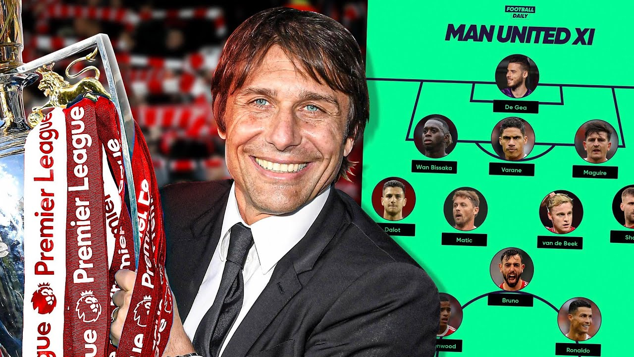 How Antonio Conte Would FIX Manchester United | Explained