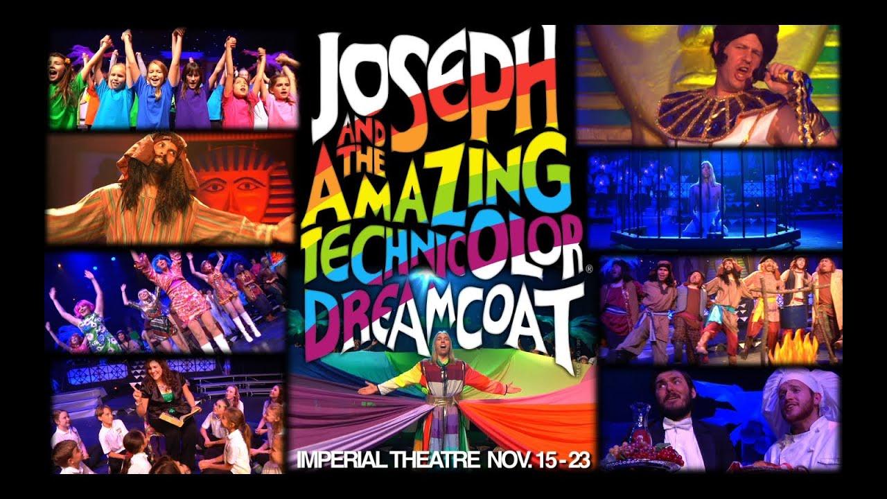 Joseph And The Amazing Technicolor Dreamcoat Promo - YouTube