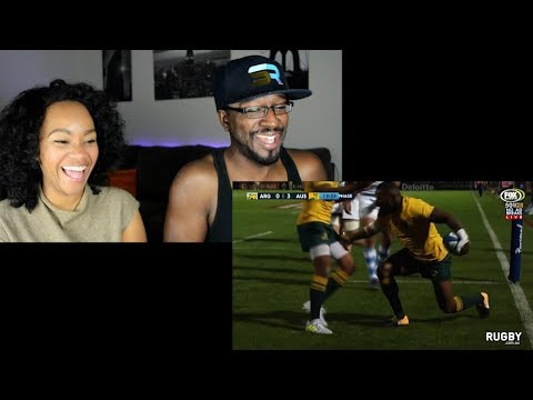 The Rugby Championship 2017- Argentina vs Australia REACTION