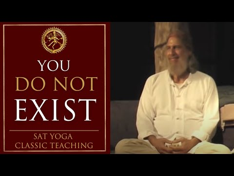 You Do Not Exist - Ego Death and Divine Rebirth Retreat - Shunyamurti teaching