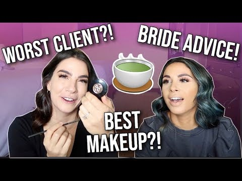 MAKEUP ARTIST Q&A | Wedding Tips, Worst Client, Kit Essentials