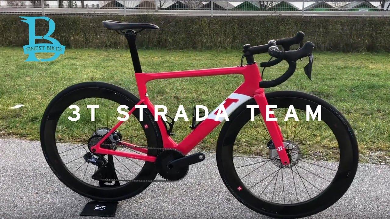 niedriger Preis weltweit verkauft Online bestellen 3T Strada Team - Aerodynamisch optimiertes Rennrad mit 1x11 und breiten  Reifen.