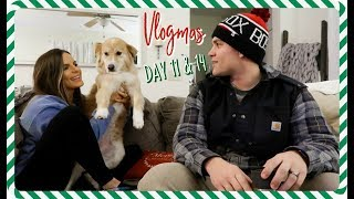 GIFT GUIDE FOR HIM & SHOPPING VLOGMAS DAY 11 & 14 | Casey Holmes Vlogs