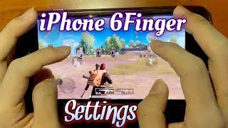 【PUBG mobile】iPhone 6Finger + Gyro Sett…