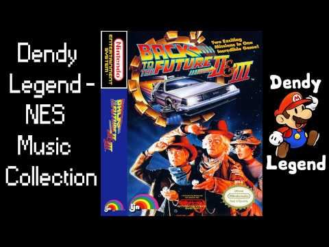 Back to the Future Part II & III NES Music Soundtrack Song - Bonus Timer Low [HQ] High Quality Music