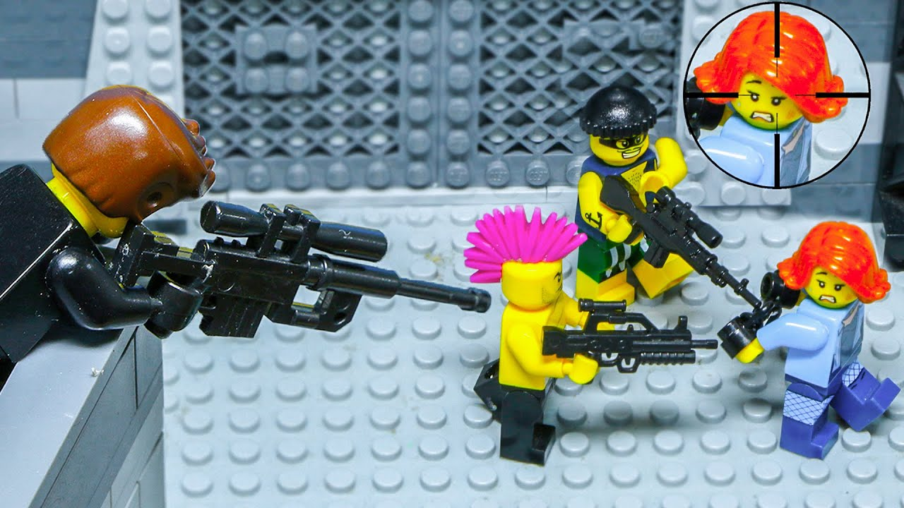 LEGO Land | Lego City Secret Agent | Undercover Rescue Mission | Lego Stop Motion