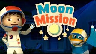 Games for kids Zack and Quack Moon Mission Games for children