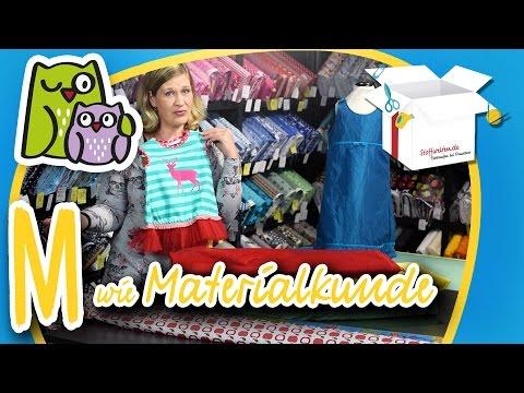 Materialkunde Materialmix | Nählexikon A-Z #13 | Nähschule Anleitung Nähen lernen für Anfänger