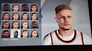 NBA 2K20 Tristan Jass Face Creation w/ Realistic Jumpshot