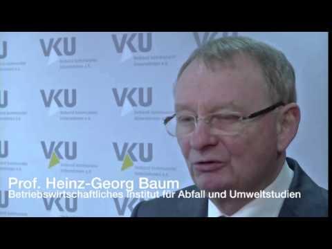 VKU-Pressekonferenz zu Defiziten beim Grünen Punkt