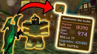 GETTING THE *NEW* KING'S CASTLE LEGENDARY! | ROBLOX: Dungeon Quest
