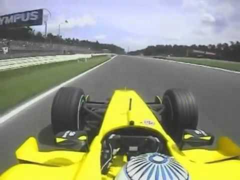 F1 Hockenheim 2005 Q   Narain Karthikeyan Onboard Lap
