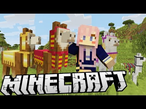 Llama Farmer   New Minecraft Llamas!!!