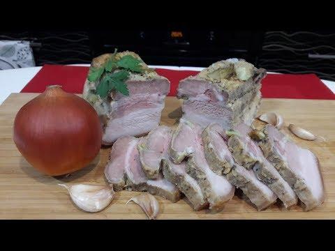 Грудинка Запеченная в Духовке в Фольге/Вкуснее я еще не Пробовала/Рецепт Запеченной Свиной Грудинки