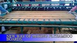 Bamboo plyboard making machine, bamboo board , strip sewing machine