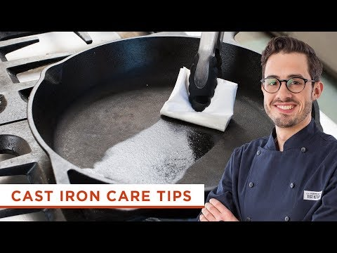 How to Care For and Maintain Your Cast Iron Skillet