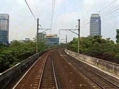 Yuk Jalan2 di Jalur Layang Kereta Api - Lintas Sawah Besar - Juanda - Gambir - Gondangdia