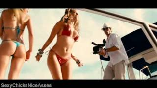 Kelly Brook and Riley Steele   Amazing Body, Sexy Ass And Nice Boobs Striptease From Piranha HD