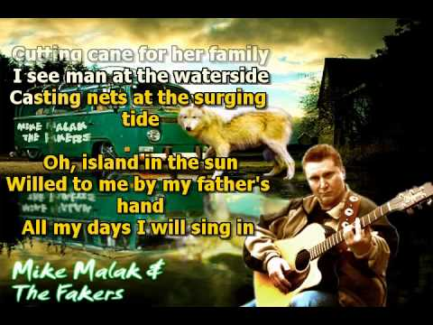Mike Malak & The Fakers - Island In The Sun (Harry ...