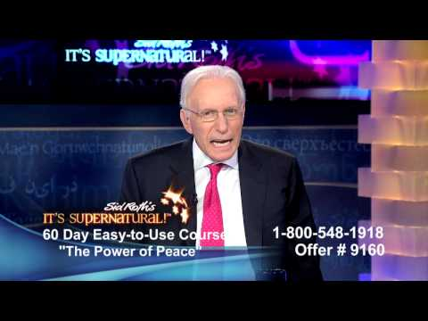 Dennis Clark on It's Supernatural with Sid Roth - Power of Peace