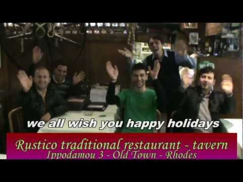 Looking for Greek traditional food... Rustico restaurant is your choice