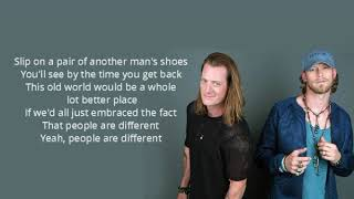 """People Are Different (Lyrics) - Florida Georgia Line (""""Can't Say I Ain't Country"""" Album)"""