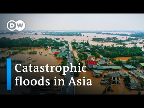 Dozens killed in floods across Southeast Asia and India | DW News