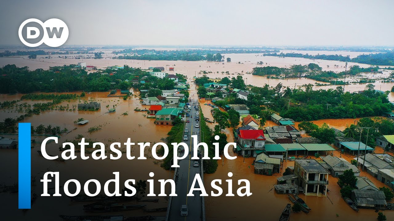 Download Dozens killed in floods across Southeast Asia and India | DW News