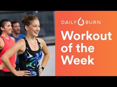 Daily Burn 365 Full Workout — 9/25/2017