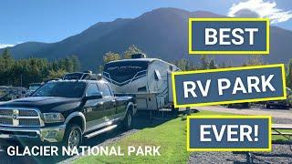 Best RV Park Ever!   Gla¢ier National Park   Travel Vlog Episode 9