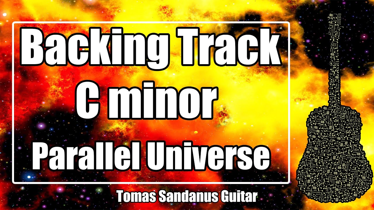 Parallel Universe Solo Backing Track in C minor - Red Hot Chili Peppers Style Guitar Jam Backtrack