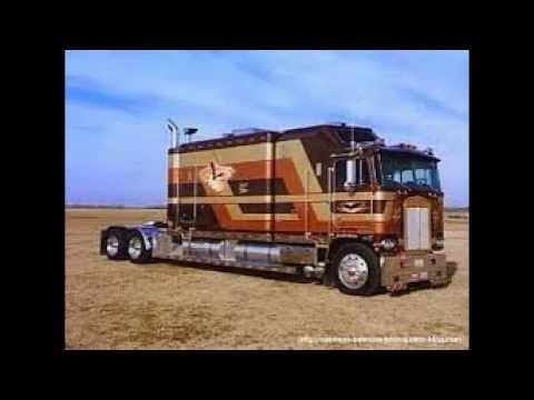 Les camions am ricains youtube for Camion americain interieur