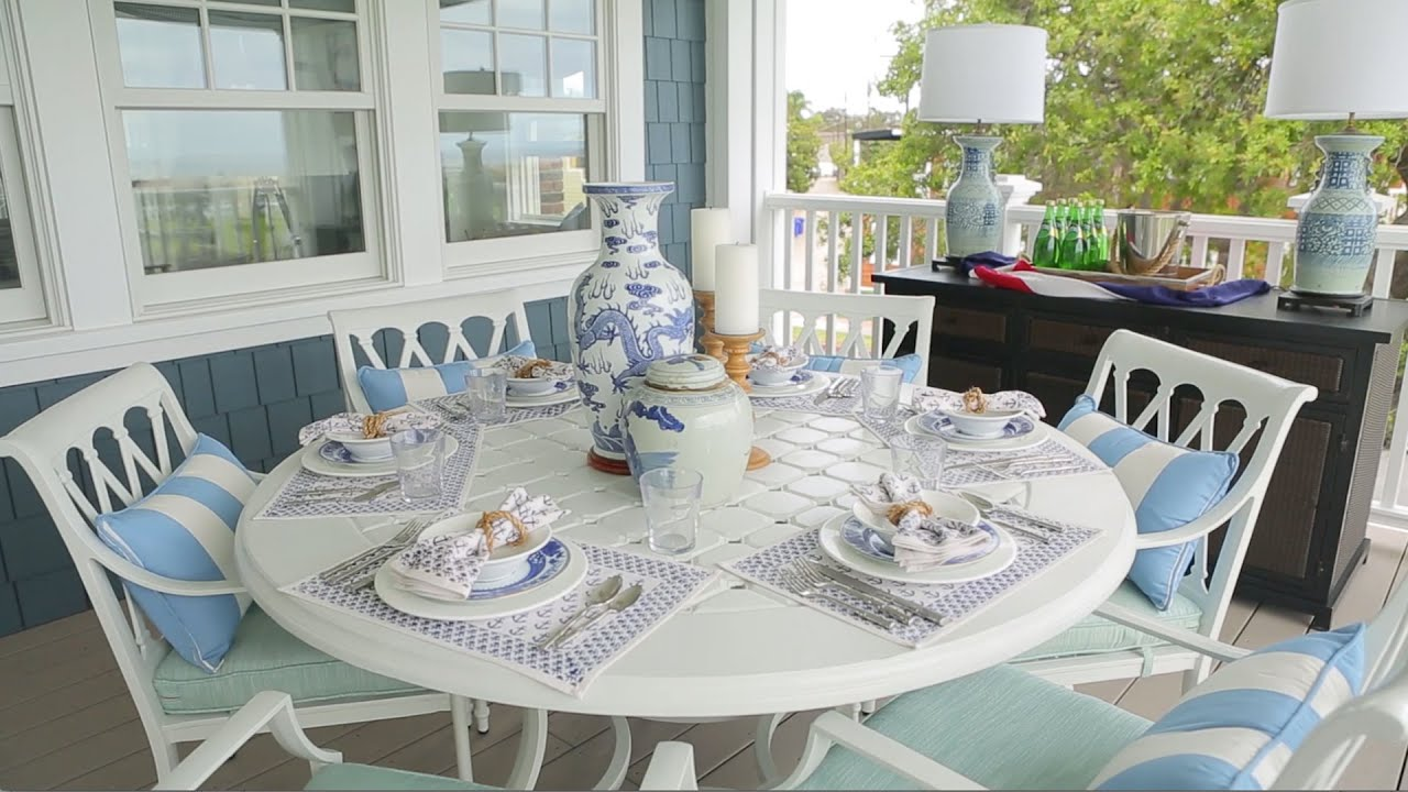 Bunny Williams Tips For Outdoor Entertaining Southern Living