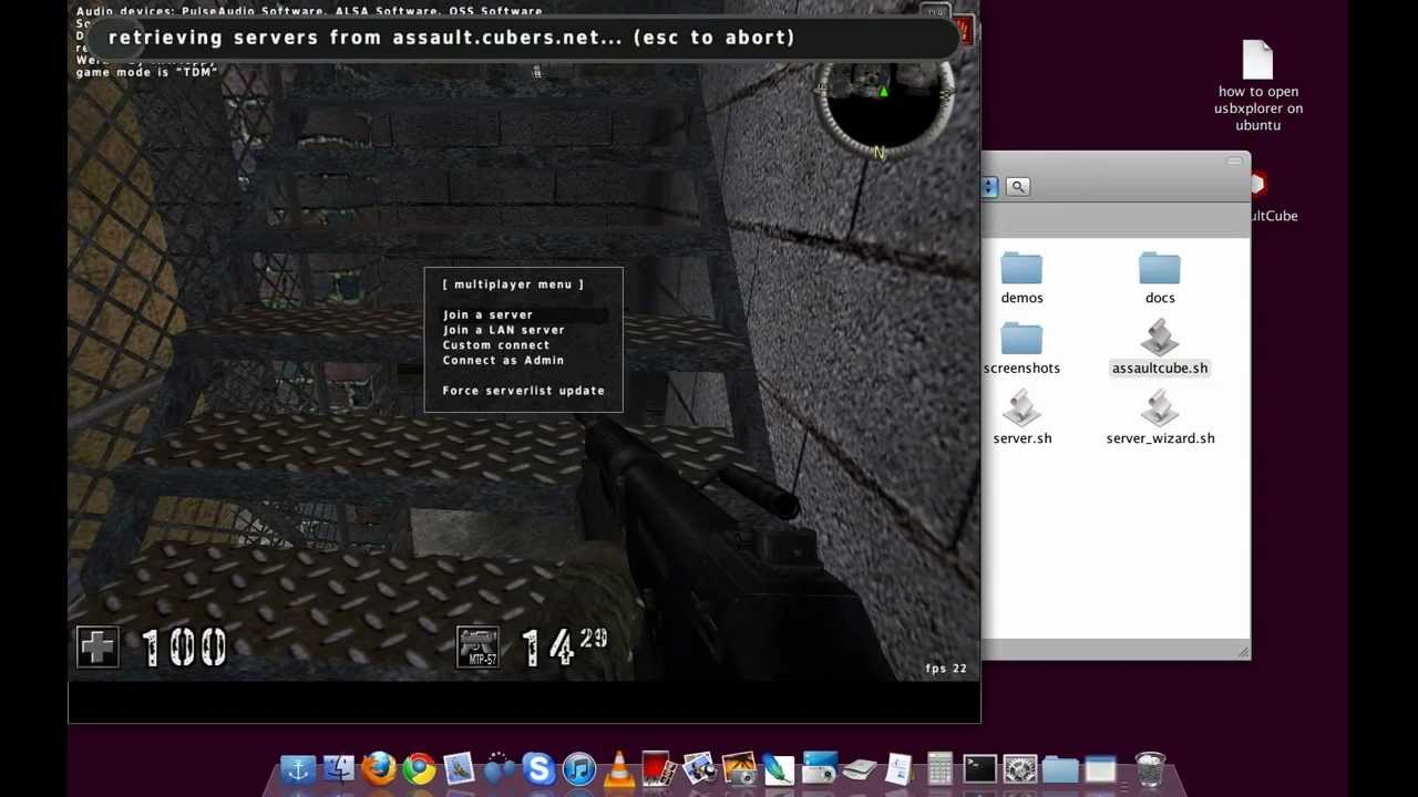 assaultcube linux
