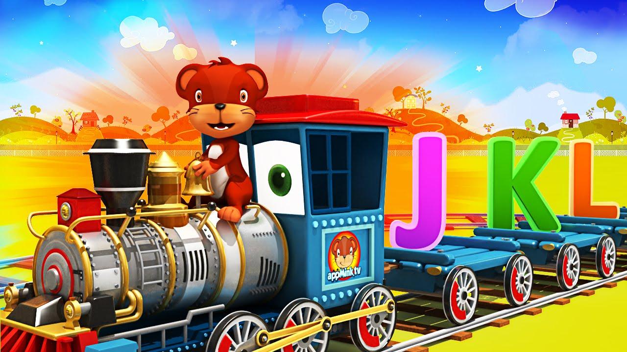 AppMink Alphabet Train Kids Learn ABCD Alphabet Songs For