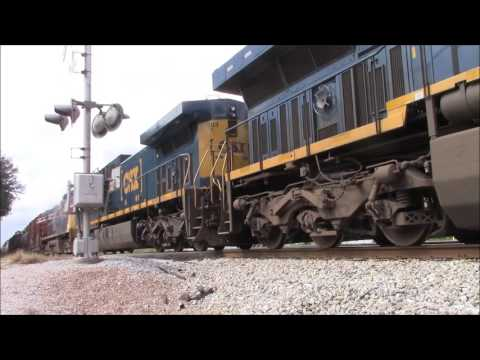 Railfanning the CSX NO&M Sub 10-15-16 to 10-16-16