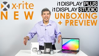 new X-Rite i1Display Pro Plus & i1Display Studio Unboxing and Initial Calibration Test!