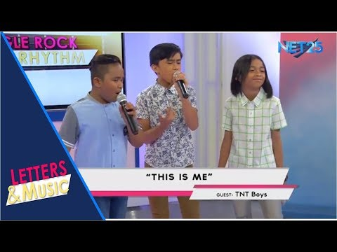 TNT BOYS - THIS IS ME (NET25 LETTERS AND MUSIC)