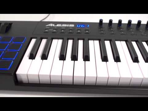 Alesis VI61 Advanced USB/MIDI Keyboard Controller Overview