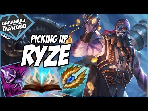 PICKING UP RYZE? BEST WAY TO LEARN YOUR WEAKNESS! - Unranked