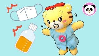 しまじろう はなちゃん かぜをひいたときは、、、❤︎ When you have a cold, Shimajiro ❤︎ Poco Channel thumbnail