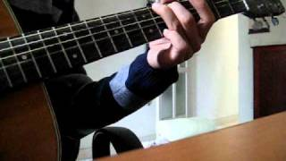 Cô gái đến từ hôm qua -  guitar