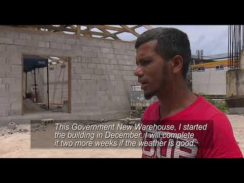 Nauru government new warehouse