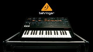 Behringer Odyssey Analog Synthesizer   Gear4music demo