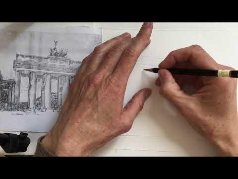Brandenburger Tor Zeichnen 1 Youtube